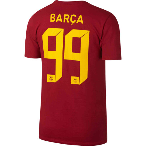 Nike Barcelona Squad Tee – Noble Red