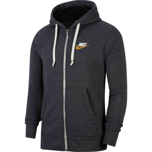 Nike Heritage Full-zip Hoodie – Black/Heather