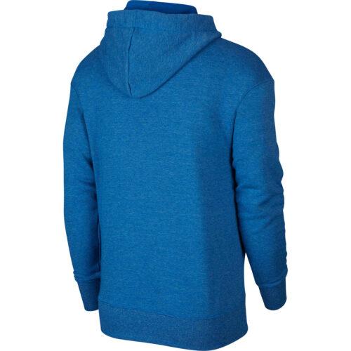 Nike Heritage Full-zip Hoodie – Battle Blue/Heather