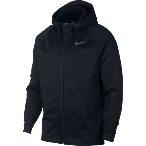 Nike Therma Full-zip Hoodie – Black