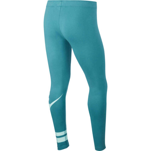 Girls Nike GX3 Favorite Leggings – Mineral Teal/Teal Tint