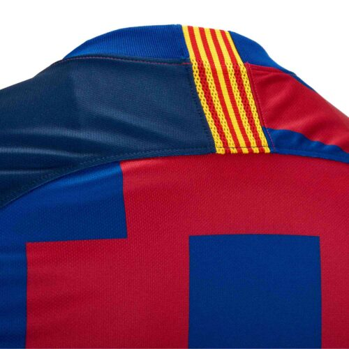 Nike and Barcelona 20th Anniversary Home Jersey – Youth