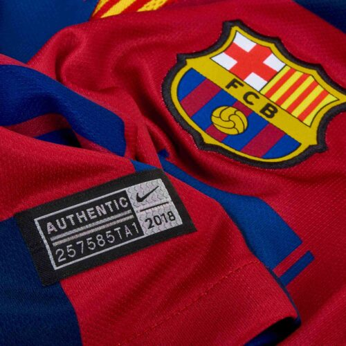 Nike and Barcelona 20th Anniversary Home Jersey – Womens