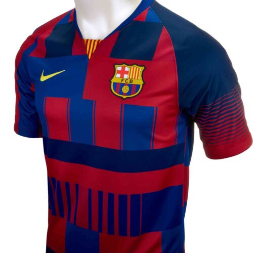 Nike and Barcelona 20th Anniversary Home Jersey