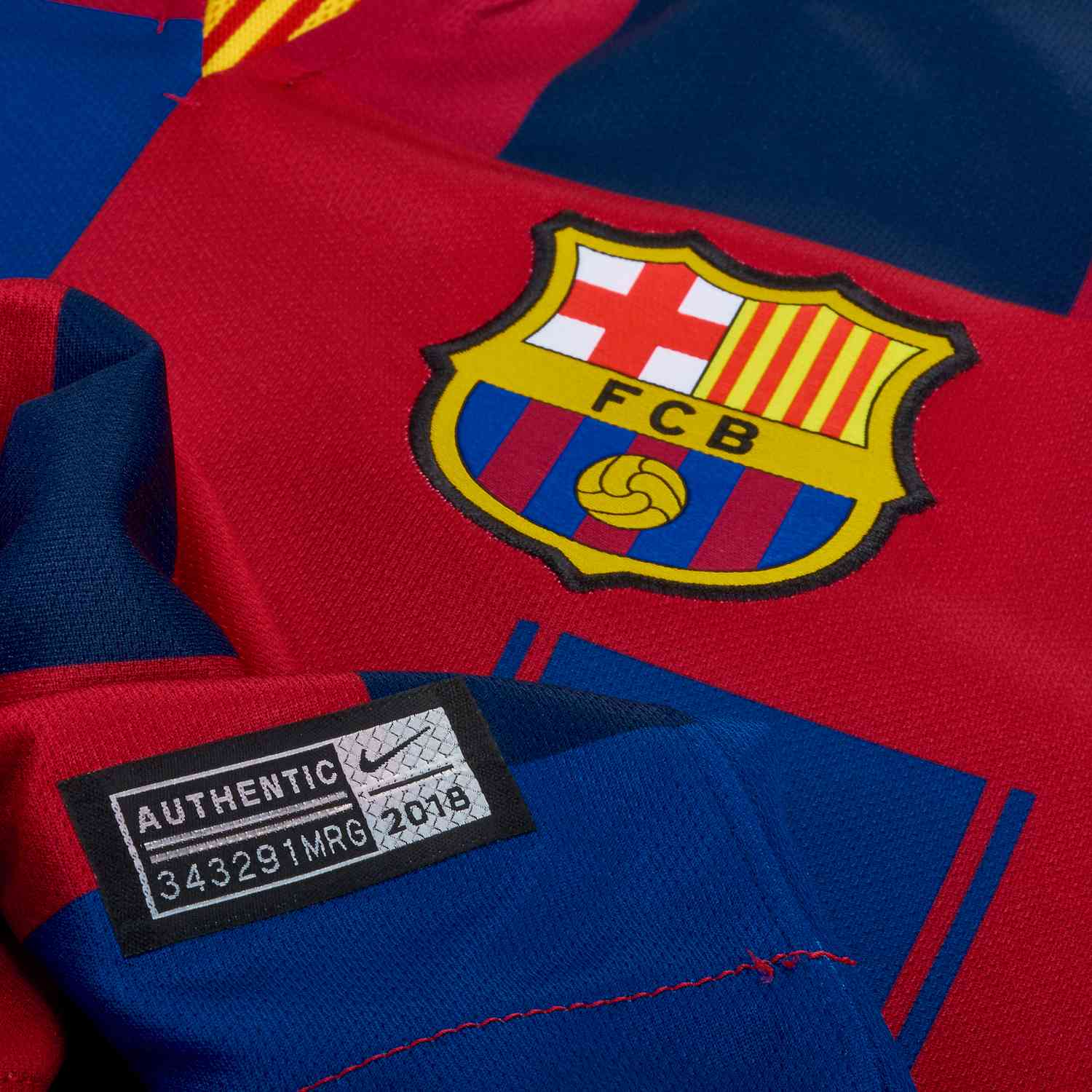 quality design cfa58 934f4 Nike and Barcelona 20th Anniversary Home Jersey - SoccerPro
