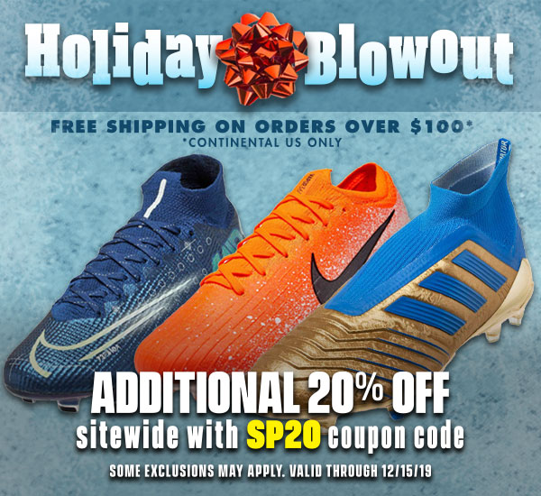 Holiday Blowout - Soccer Shoes