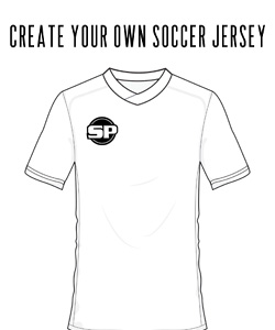 SoccerPro Coloring Pages - Create Your Own Soccer Jersey