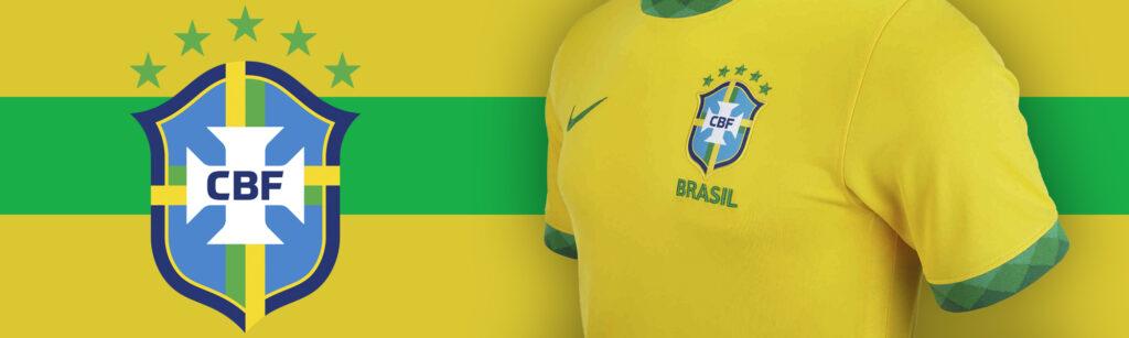 Nike Brazil Home Jersey