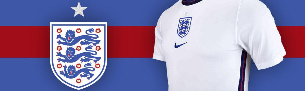 Nike England home jersey