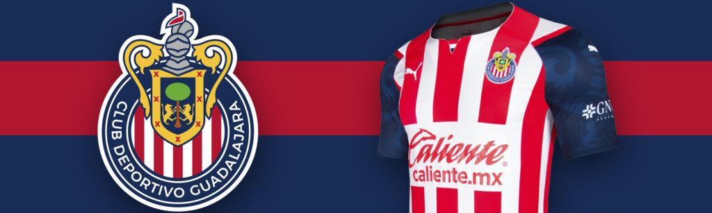 PUMA Chivas Home Authentic Soccer Jersey