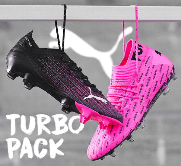PUMA Turbo pack ULTRA and FUTURE pink black