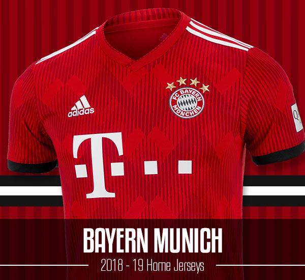 Bayern Munich 2018-19 Jerseys