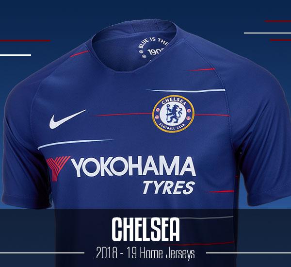 Chelsea 2018-19 Jerseys