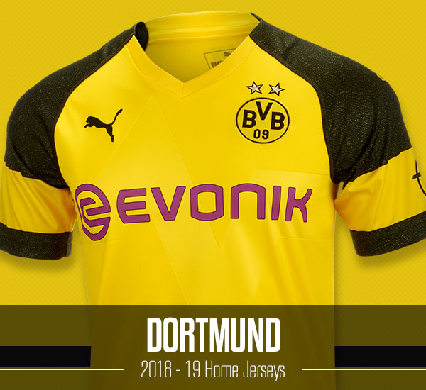 Dortmund 2018-19 Home Jerseys