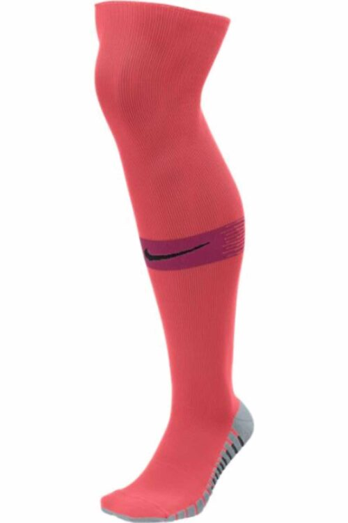 Nike Team Matchfit Soccer Socks – Bright Crimson/Deep Garnet