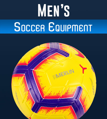 Shop Men's Soccer Equipment