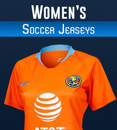 Women's Soccer Jerseys