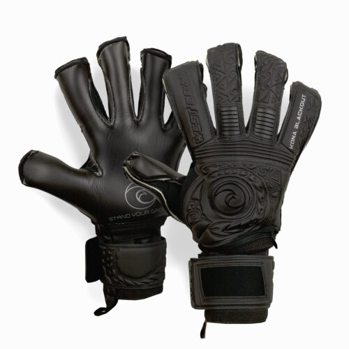 West coast goalkeeping gloves black