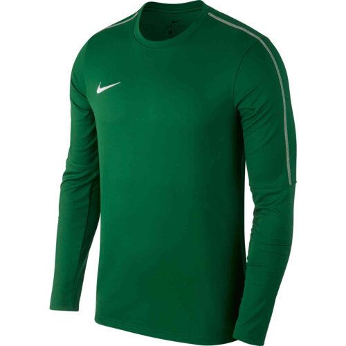 Nike Park18 Crew – Pine Green