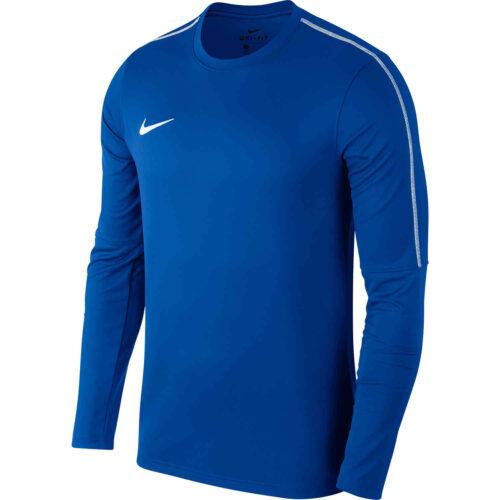 Nike Park18 Crew – Royal Blue