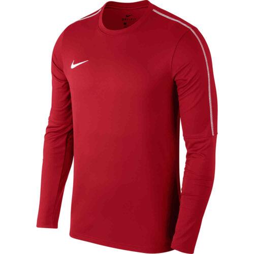 Nike Park18 Crew – University Red