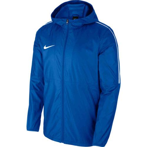 Nike Park18 Rain Jacket – Royal Blue