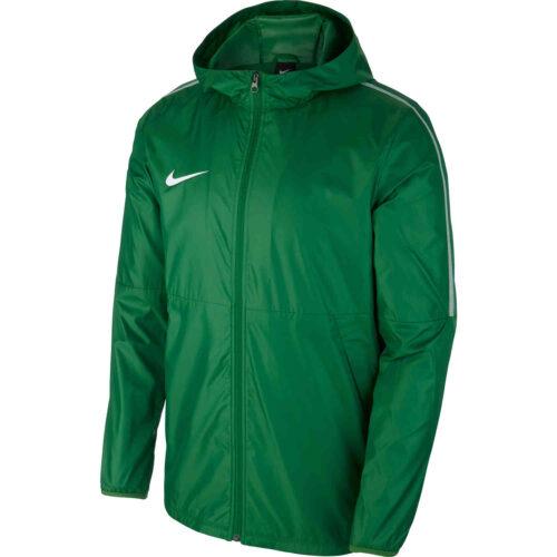 Kids Nike Park18 Rain Jacket – Pine Green