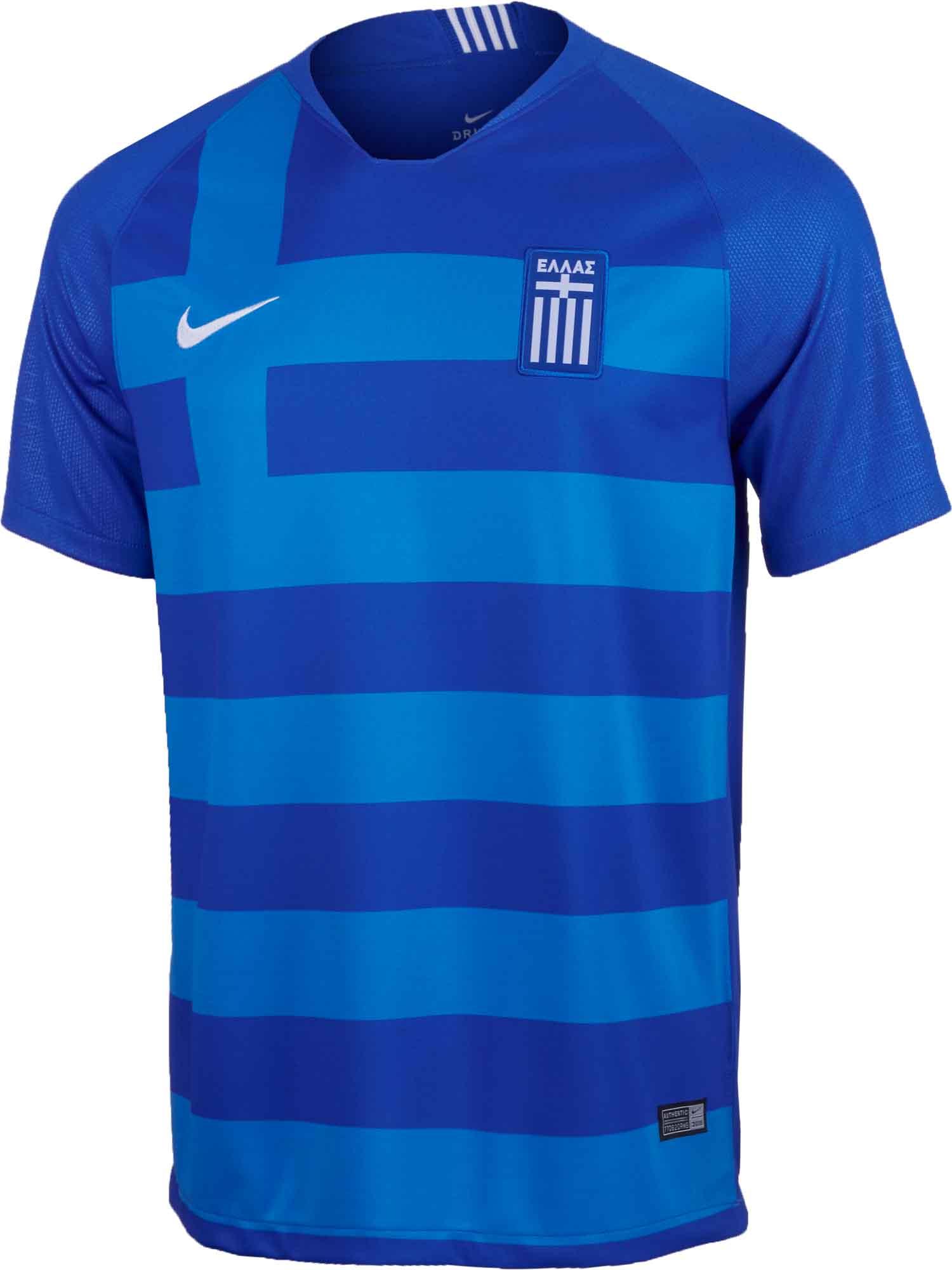 Nike Greece Away Jersey 2018-19 - SoccerPro