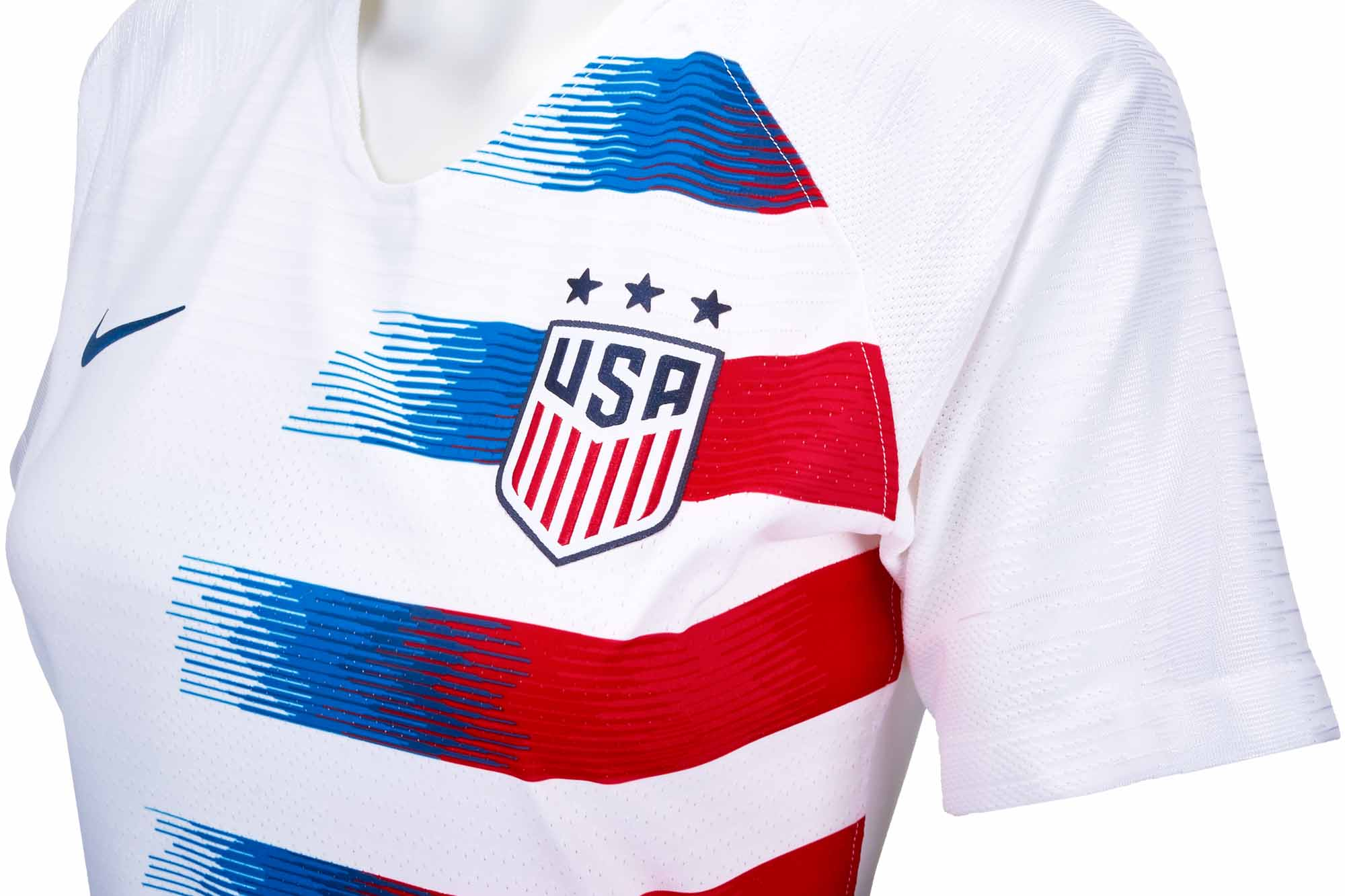 1df5e0c02 Women's Nike USA Home Match Jersey 2018-19 - SoccerPro.com