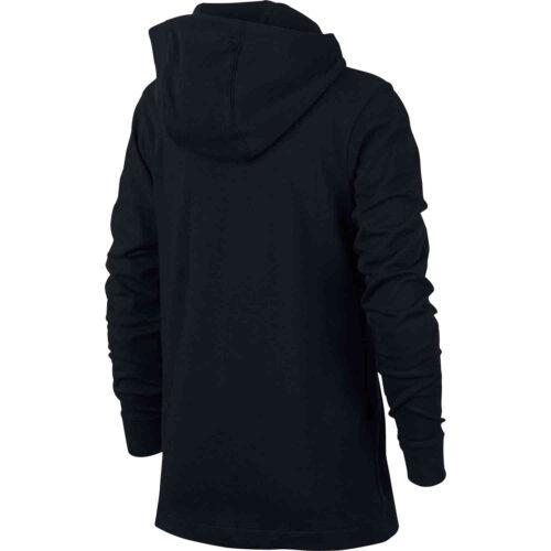 Kids Nike Sportswear Full-zip Hoodie – Black