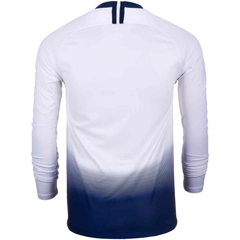 f320de60110 Nike Tottenham Home L S Jersey 2018-19 - SoccerPro