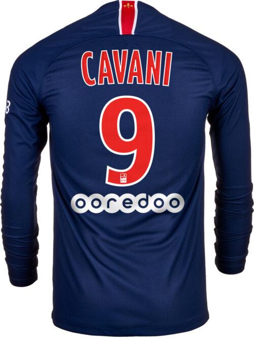 Nike Edinson Cavani PSG Home L/S Jersey 2018-19