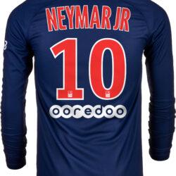 quality design f4117 177a2 Nike Neymar Jr. PSG Home L/S Jersey 2018-19 - SoccerPro
