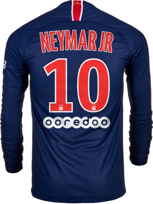 Nike Neymar Jr. PSG Home L/S Jersey 2018-19