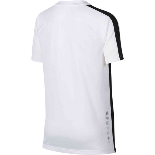Nike CR7 Dry Top – Youth – White/Hot Punch