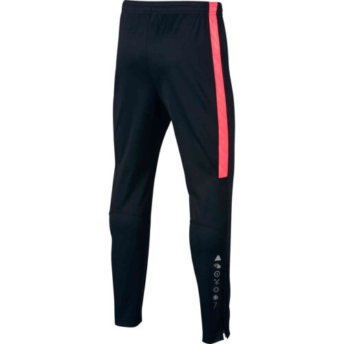 Nike CR7 Dry Pant – Youth – Black/Hot Punch