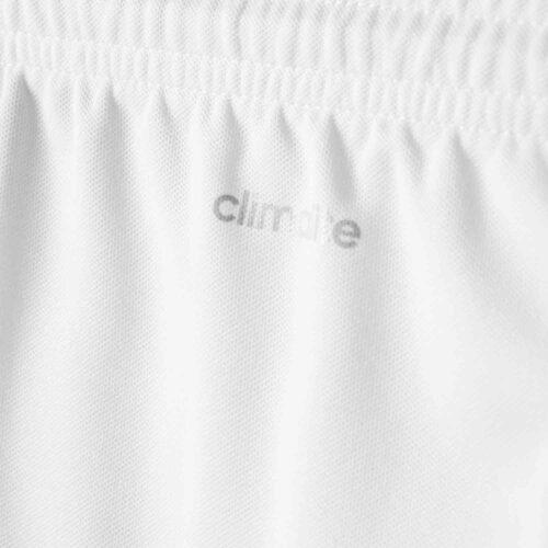 Kids adidas Parma 16 Shorts – White