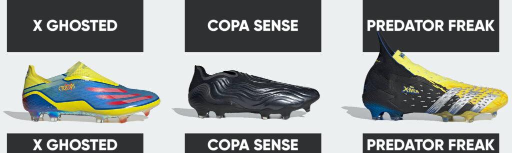 adidas soccer cleats x ghosted nemeziz predator freak copa sense