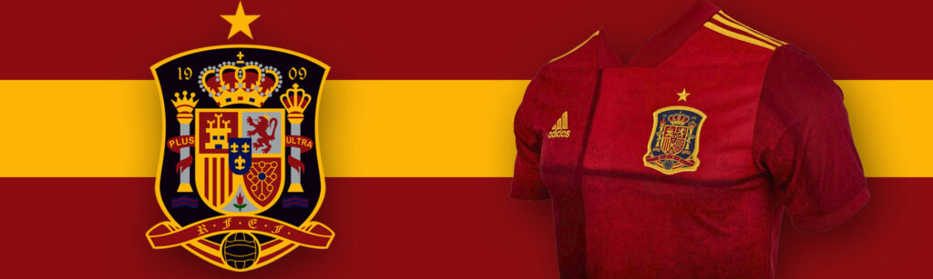 adidas Spain Home Soccer Jersey