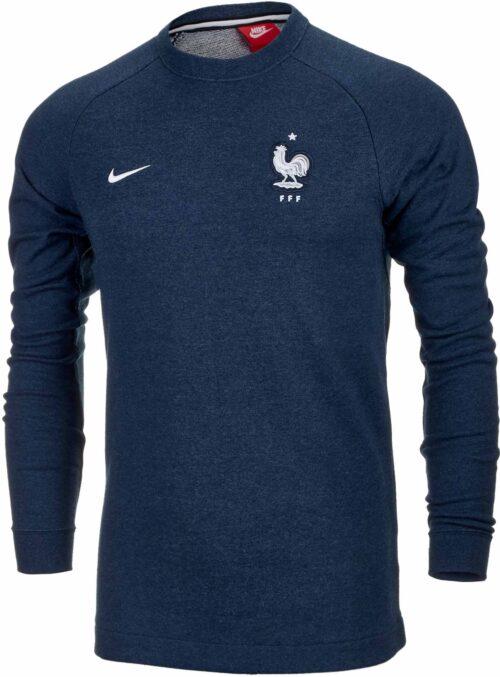 Nike France Modern Crew FT Sweatshirt 2018-19