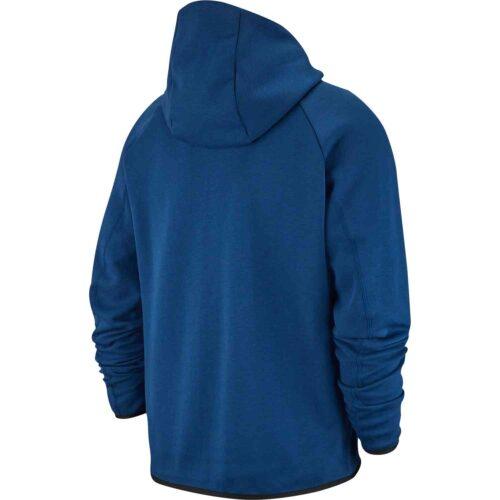 Nike Barcelona Techfleece Hoodie – Coastal Blue/Equator Blue