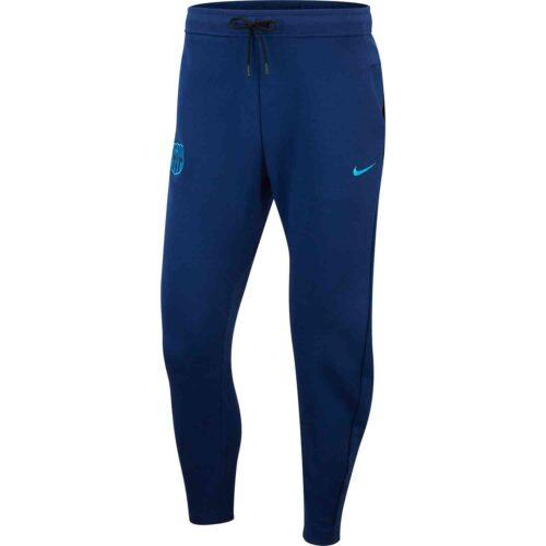 Nike Barcelona Techfleece Pants – Coastal Blue/Equator Blue