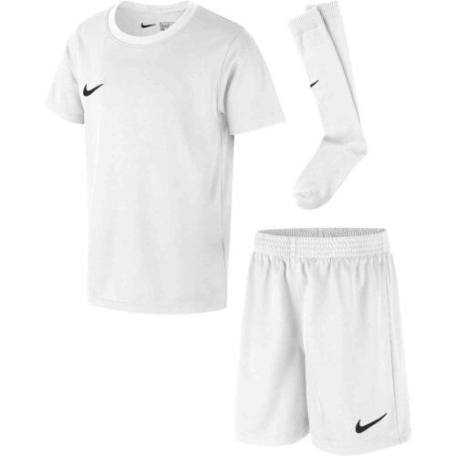 Kids Nike Park Kit Set – White