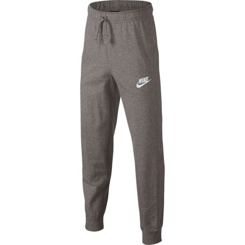 Kids Nike Sportswear Jersey Jogger Pants – Dark Grey Heather