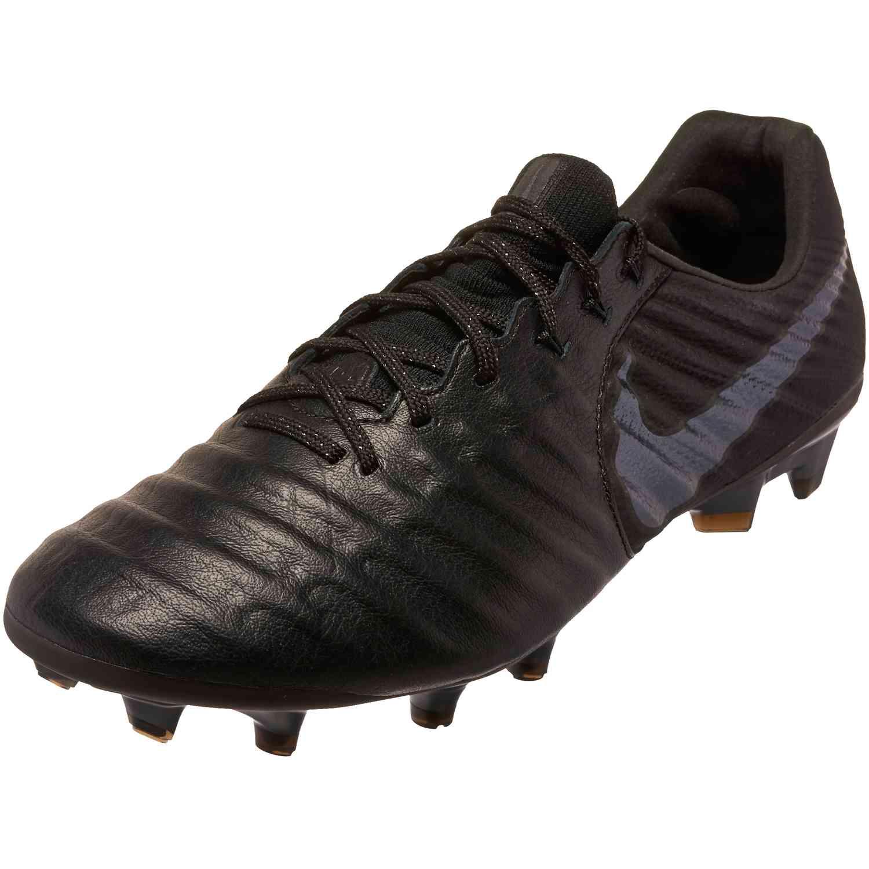 83bd058ea Nike Tiempo Legend 7 Elite FG - Black Black - SoccerPro