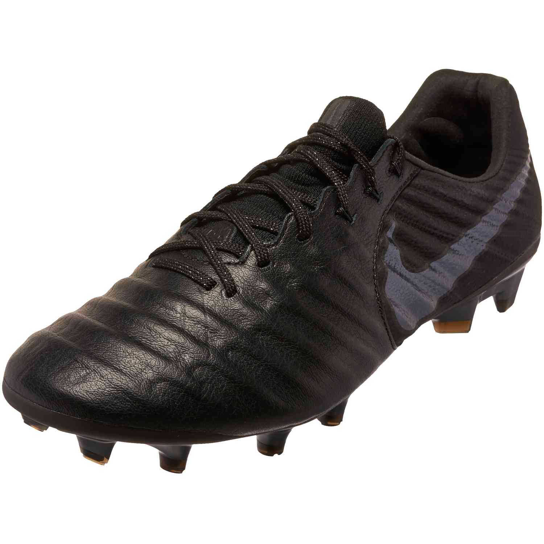 b15ee3d36536 Nike Tiempo Legend 7 Elite FG - Black Black - SoccerPro