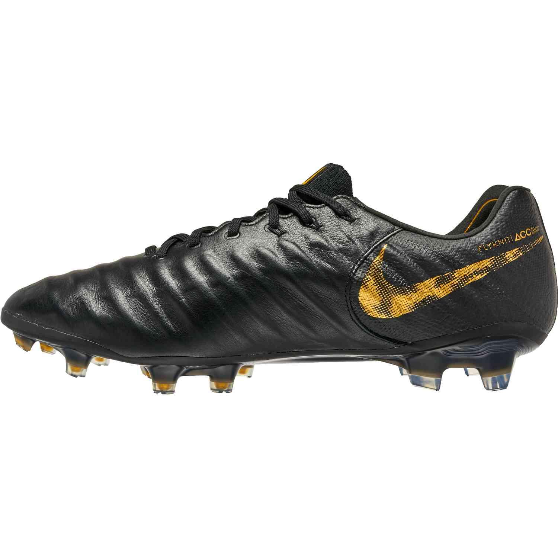 e665cc93615d Nike Tiempo Legend 7 Elite FG - Black Lux - SoccerPro