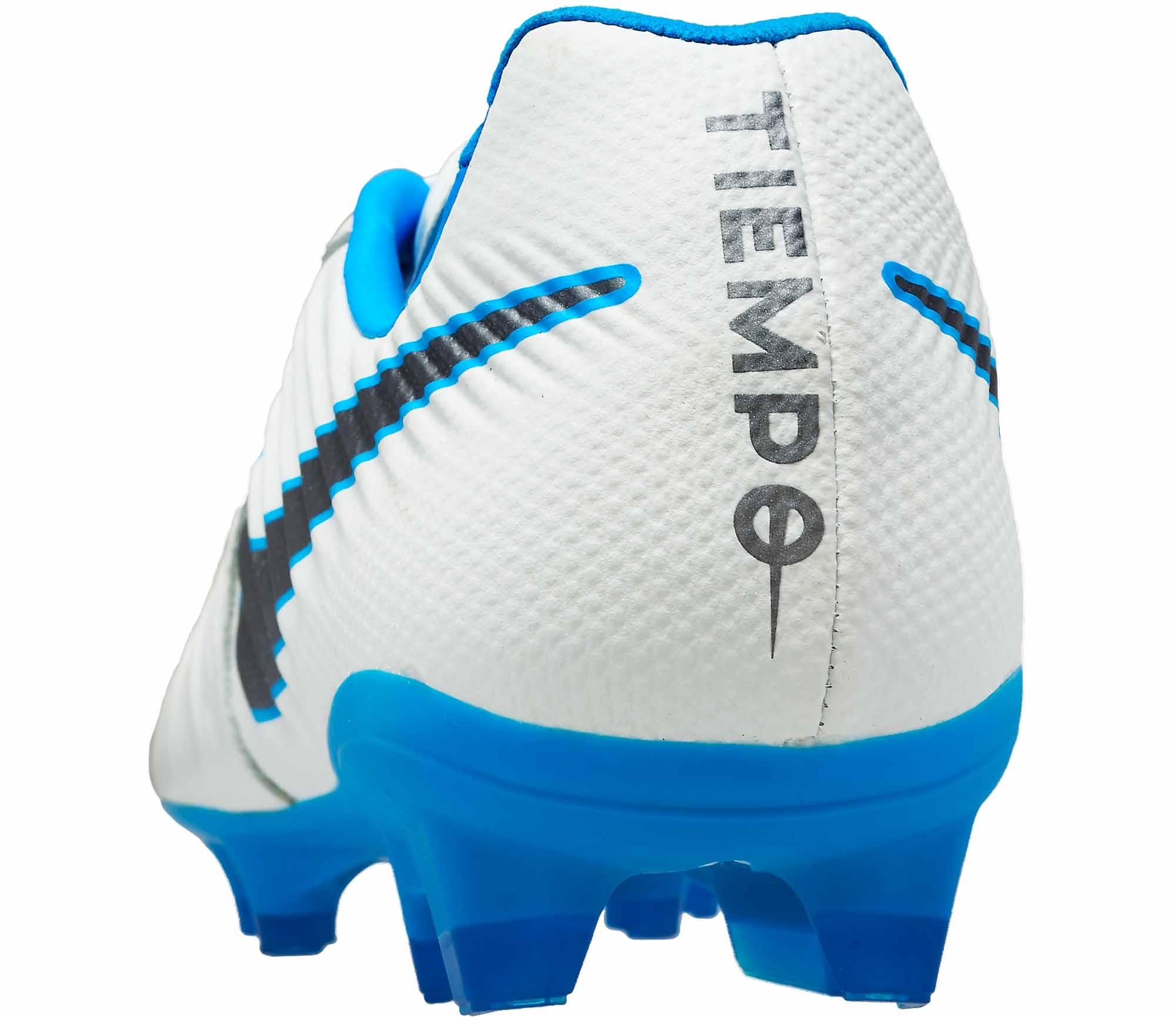 new concept 0fffd c051c Nike Tiempo Legend VII Pro FG – White Metallic Cool Grey Blue Hero