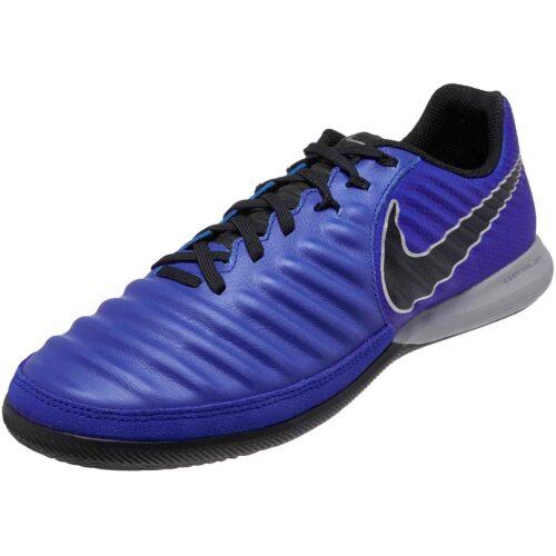Nike Tiempo LegendX 7 Pro IC – Racer Blue/Black/Metallic Silver