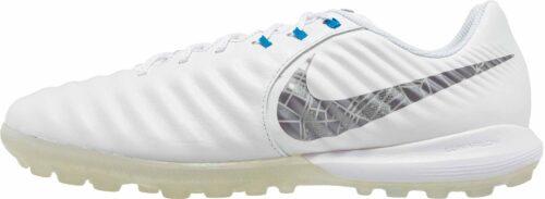 Nike Tiempo LegendX 7 Pro TF – White/Metallic Cool Grey/Blue Hero